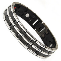 bar suppliers - Wollet Jewelry Years Professional Titanium Jewelry Supplier Factory cm mm Men Magnetic Germanium Titanium Bracelet