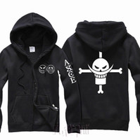 ace standards - New Anime one piece Ace Smile cosplay costume Hooded Hoodies Jacket coat Hot Sale