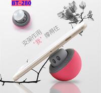 acoustic sounds - BT280 BT mini mushroom head bluetooth speakers Mobile phone chuck mini acoustics Creative sound hands free bluetooth speakers
