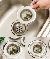 Wholesale Stainless Steel Kitchen Sink Mesh Strainer Basin Drain Garbage Disposal Brand New Good Quality