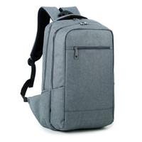 Wholesale 2016 New Designed Men s Backpacks Bolsa Mochila for Laptop Inch Inch Notebook Laptop Bags Men Backpack School Rucksack