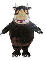 Wholesale Professional custom high quality gruffalo mascot costume Adult Size cartoon Costumes EMS
