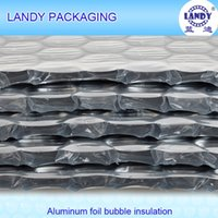 aluminum foil roof insulation - Aluminum foil single bubble insulation Green house roof waterproof anti reflect insulation material Guangzhou customized aluminum insulation