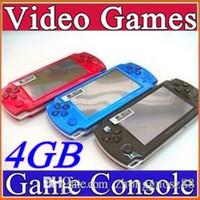 FREE Built-in 5000 jeux, 4 Go de 4,3 pouces PMP Lecteur jeu portable MP3 MP4 MP5 Caméra Video Player FM Portable Jeu Console C-YXJ