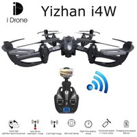 Wholesale YiZhan iDrone i4W Wifi FPV Real time Live Video RTF G CH RC Quadcopter Camera Drone with MP HD Camera RTF