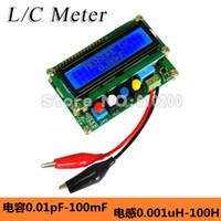 autorange capacitance meter - LC100 A Digital LCD High Precision AutoRange Inductance Capacitance Meter L C meter Accuracy pF mF