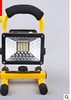 Wholesale Outdoor mobile water proof emergency lamp rechargeable projection lamp hot selling led charging emergency lamp
