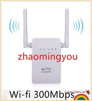 Wholesale Wireless Wifi Router b g n Network Mini Router Wi fi Mbps Wifi Repeater Range Expander Signal Boosters WPS Encryption