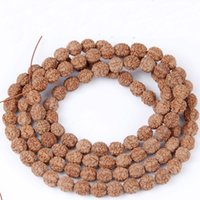 bar practice - Natural rudraksha beads bracelet Mala Bead YOGA Hindu Prayer Meditation Buddhist for Meditation Practice Bracelet