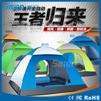 Wholesale High Quality double layer person rainproof ourdoor tourist camping tent for bivouac hiking fishing hunting