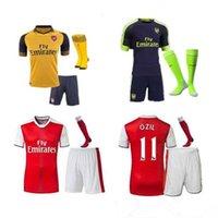 arsenal away socks - 2016 Arsenal kit socks Jerseys shirts WILSHERE OZIL WALCOTT RAMSEY ALEXIS price Jersey home and away