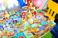 Wholesale HOT Selling Cartoon Child Birthday Party Articles Winnie The Pooh Decoration Props Baby Birthday Dress Up Set