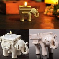 big lots candles - Creative Romantic Wedding Favors Lucky Elephant Tea Light Candle Holder Wedding Birthday gifts with tealight