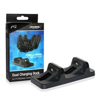 Wholesale Dobe PS4 Xbox One Gaming Controller Wireless Charging dock Stand Dual Charger Dock Mount for PlayStation PS4
