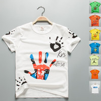 Wholesale New Arrival Summer Children T Shirts Boys Kids T Shirt Teen Clothing For Boys Girls Baby Clothing T Shirts