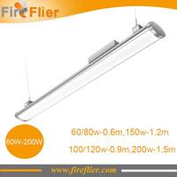 Wholesale 6pcs IP65 factory warehouse industrial W W W W W W led high bay light W LED tube ft ft ft waterproof