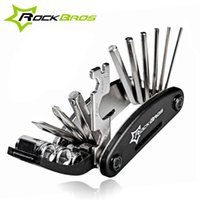 Wholesale ROCKBROS in Multifunction Bicycle Repair Tools Kit Hex Spoke Cycling Screwdriver Tools MTB Mountain Bike Repair Tool