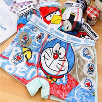 Wholesale 6pcs Boys Girl Underwear Panties Children Pants High Quality Cotton girl boy boxer underpants briefs underwear