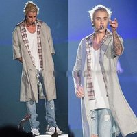 Wholesale Fashion Men s Coat New wool jacket Justin Bieber Fear Of God High Street Wool Coat