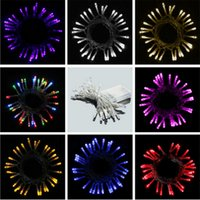 ac trading - LED Battery Light String Meters Beads Shop Windows Festive Lights Wedding Explosion Models of Foreign Trade