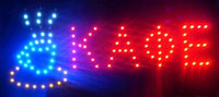 Wholesale 2016 hot sale customed x19 Inch electronic sign high quality LED neon Coffee sign business sign