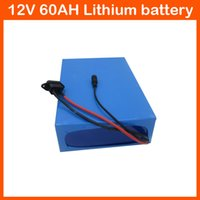 Wholesale High capacity Lithium battery V AH for street light electric bicycle CCTV Camera V AH Li ion battery pack charger
