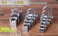 Wholesale Shipping Steel Blade Anti Prying Lock Anti theft Padlock Open Padlock Waterproof Stainless Steel Outdoor Balcony Window Lock