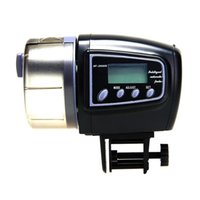 Wholesale Automatic Manual Auto Feeding Convenient Aquarium Fish Tank Food Feeder Timer LCD Display