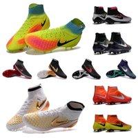 Wholesale New original mens high ankle MagistaX Proximo Botas de futbol Superfly Magista orden II soccer shoes FG Magista Obra ACC soccer cleats
