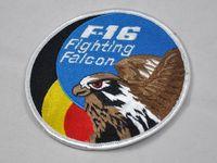 air force falcons - Belgium BELGIQUE Air Force F Fighting Falcon Fighting Falcon fighter badge armband