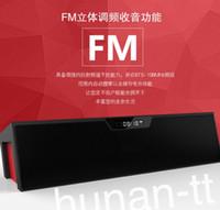 2016 Le plus récent original Nizhi HIFI haut-parleur Bluetooth avec écran SDY019 Sardine FM Radio sans fil USb Amplificateur Stereo Sound Box
