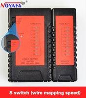 Wholesale Noyafa NF468 Tester RJ45 RJ11 Cable tracker Network Cable Tester Network Ethernet Network Tester