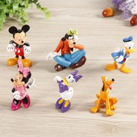Wholesale 2016 new Military Figures CUT Mickey Mouse Clubhouse G01 PVC Figure Set