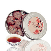 Wholesale on sale g Granules Rose Pu er Tea with Can Pu erh Mini Yunnan Puer tea Cooked Chinese tea