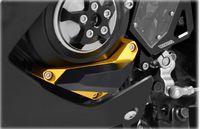 aluminum sliders - KODASKIN Motorcycle CNC Aluminum Engine Cover Frame Sliders Crash Protector Left Pad For Yamaha YZF R3 R25