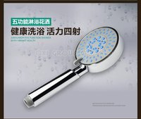 Wholesale Multifunctional Bathroom Rainfall Shower Head ABS With Chrome Plated Head Shower Hand Shower Water Booster