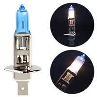 Wholesale 1X Fog Lights Auto Car Led H1 Headlight Bulb Lamp V W Super White K Halogen Car Styling for Ford HA10548