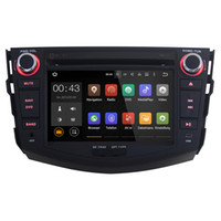 Wholesale Joyous J Double Din Quad Core inch Android Car DVD Player GPS Navigation For Toyota RAV4 HD Car Stereo