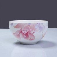 al por mayor china rice-China tazón vajilla de porcelana esmaltada 4,5 pulgadas cuenco cuenco al vapor sólo para su salud y la salud sin plomo Rice