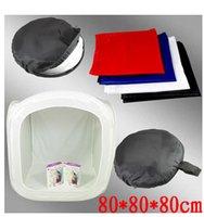 Acheter Photo boîte de tente-Diffuseur Flash 80 x 80cm Photo Studio Softbox Light Tent Cube Soft Box
