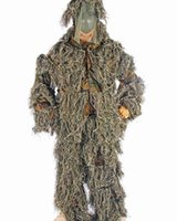 Wholesale PP yarn Bionic Ghillie Suits camouflage hunting suit Recon Paintball Airsoft Photographing Military