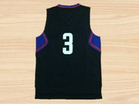 Wholesale Clippers Chris Paul Fashion Casual T shirts Mens Black new fabrics fans T Shirts Clothes Basketball Clothing