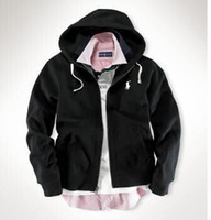Wholesale 2016 autumn outfit American style mens hooded fleece cardigan fleece male youth movement fleece hoodies