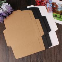 Wholesale 3 Colors Vintage g Blank Kraft Paper DIY Multifunction Envelope postcard box Package paper