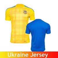 ukraine - Euro Cup Best Quality Ukraine Soccer Jersey Home Yellow Away Blue Ukraine Jersey SHEVCHENKO Football Shirt