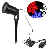 Wholesale Light Magical Falling Snowflakes Christmas Light Projector Waterproof LED Moving Spotlight Lamp Landscape indoor Outdoor Wall Party Light