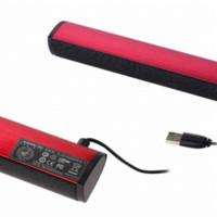 audio control travel - ashion iKANOO N12 Brand USB Soundbar Laptop Portable Computer PC Speaker Swan Home Travel Audio Smart Electronics Speakers Cheap spea