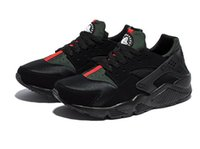 b homes - 2016 new men and women black green breathable hurache shoes chaussure huarche femme huaraches home running shoes