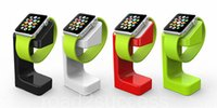 Wholesale Charging Charger Stand Dock Station Desktop Holder With retail package For Apple Watch iwatch mm mm E7 Stand