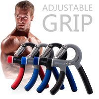 Wholesale 22 to Lbs Adjustable Hand Power Fitness Exerciser Hand Gripper Grip Exerciser for Wrist Forearm Streng